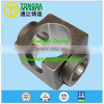 TS169494 investment casting cast steel casting
