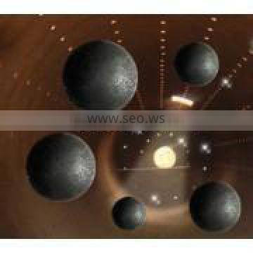 Power plant Grinding Media Steel Ball with low wear rate