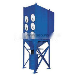 Industrial ptfe cartridge pulse cleaning dust collector