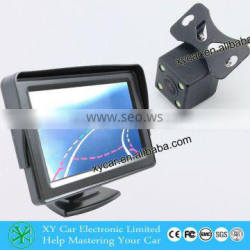 LED night vision wireless optional auto car reverse camera with dynamic parking guide line XY-1668M