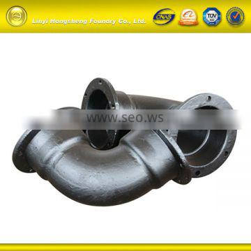 ISO9001:2008 cast iron plumbing parts with 19 years experiences OEM service