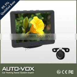 high quality 3.5 inch car lcd monitor for bmw with camera