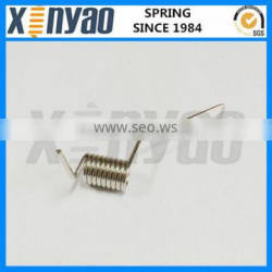 small stainless steel torsion springs