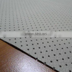High Class Finished Cow Perforation Automotive Leather
