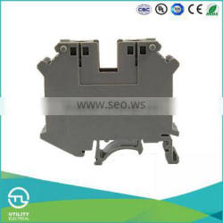 UTL Promotional Product Industrial Distribution Din Rail Terminal Block Connector 0.75-35mm 800V 18-0 AWG