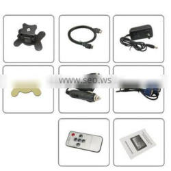 Wholesale 7 inch TFT-LCD headrest pillow monitor /7 inch Universal Car Pillow headrest TFT Monitor
