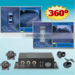 360 degree all round view car camera system for truck