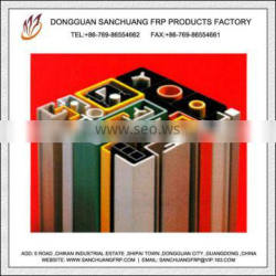 Anti-aging Door and Window Construction FRP Structure Porfiles