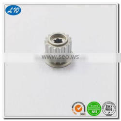 High Quality CNC machining aluminum Spin Button for electrical