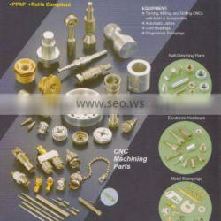 precision turning, milling, knurling, thread rolling and tapping service