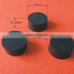 custom tapered rubber cap/ drilled rubber stopper /rubber plug with high quality