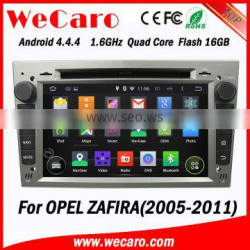 WECARO FACTORY 7 inch Double Din Android Car DVD GPS for Opel Zafira 2005 - 2011 Quality Choice