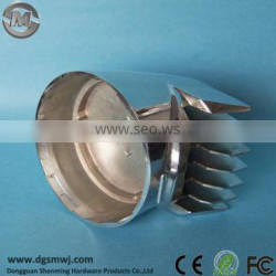 120mm Chrome Electroplating Surface Aluminum alloy LED housing, Aluminm Die casting/