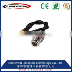 (factory price) MMCX female jack to N jack bulkhead O-ring ST pigtail cable RG174 20cm for wire