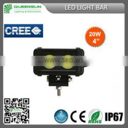 Direct factory price 5 inch 20W LED light bar