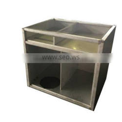 ISO9001 Full amada machinery customized stainless steel cabinet