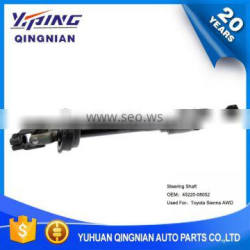 Auto Chassis Parts U-Joint For Toyota , Steering Shafts OEM:45220-08052
