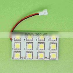 Promotional price Auto led dome lights, 12 smd 5050 chip
