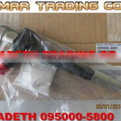 Denso common rail injector 095000-5800 6C1Q-9K546-AC for FORD,FIAT,CITROEN,PEUGEOT