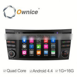 Ownice c300 car dvd GPS NAVI player for Mercedes Benz E200 with GPS,support IPOD TV Function multimedia TMPS mirror link
