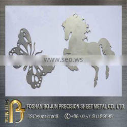 High precison custom 4000w laser cut products / laser cut stainless steel ornament