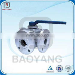 China Hot Sale OEM 3 Way Stainless Steel Gate Valve