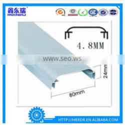 High quality aluminum extrusion custom profile for poster frames and LED lightbox