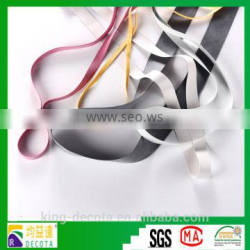 Resistant chlorine Embossed Rubber Elastic Tape used for home textiles