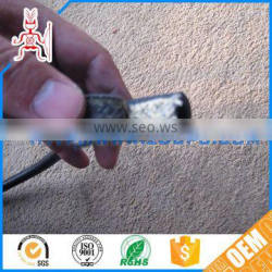 Hot pressing molding non-flammable cloth-reinforced hose