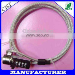 4 digit notebook security cable lock