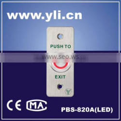 Piezoelectric Exit Button with LED(Stainless steel)